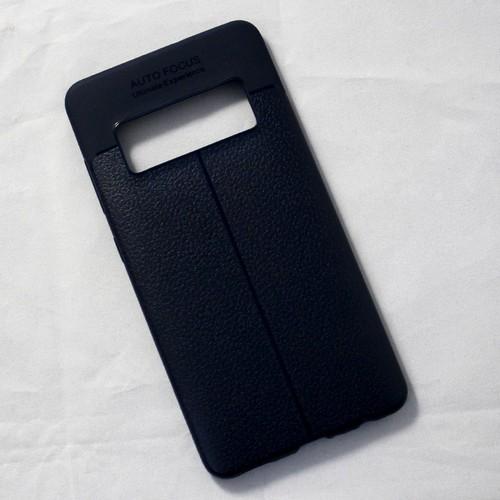 Ốp lưng sần Asus Zenfone AR dẻo xanh đen