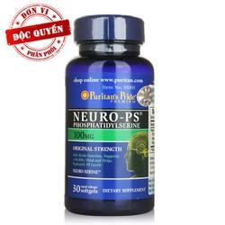 Thực phẩm chức năng cao cấp bổ não, tăng trí nhớ Neuro PS  30 viên