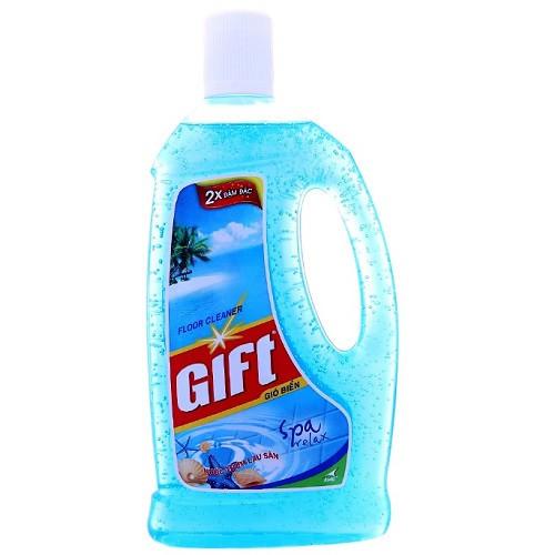Nước lau sàn Gift Gió biển - chai 1 lít