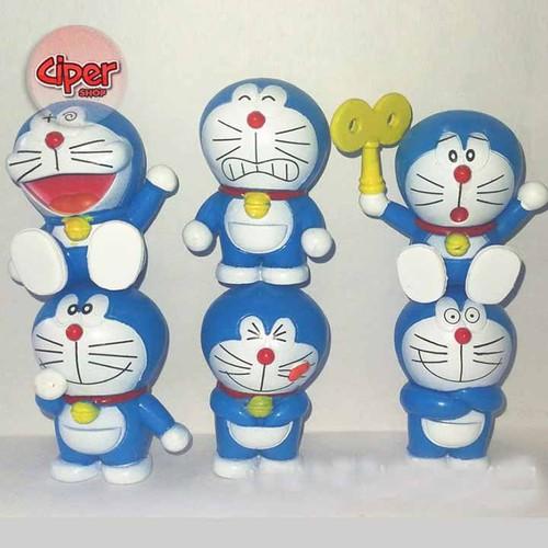 Bộ 6 nhân vật Doraemon - CP0988