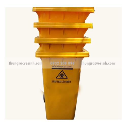 Thùng rác y tế màu vàng 120 lít - 4157064 , 10299793 , 15_10299793 , 550000 , Thung-rac-y-te-mau-vang-120-lit-15_10299793 , sendo.vn , Thùng rác y tế màu vàng 120 lít