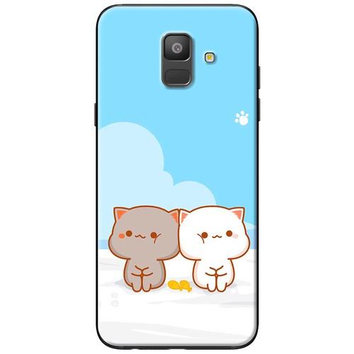Ốp lưng nhựa dẻo Samsung A6 2018 Đôi mèo ngồi - 4159058 , 10303239 , 15_10303239 , 120000 , Op-lung-nhua-deo-Samsung-A6-2018-Doi-meo-ngoi-15_10303239 , sendo.vn , Ốp lưng nhựa dẻo Samsung A6 2018 Đôi mèo ngồi