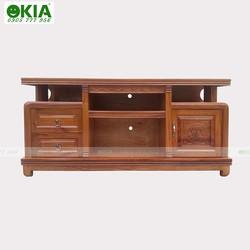 Tủ kệ tivi gỗ xoan đào giá rẻ Tp HCM