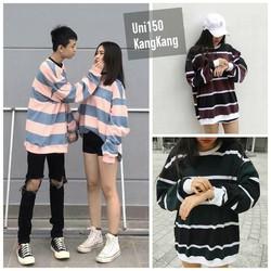 Áo thun tay dài Unisex - Áo sweater 2 màu