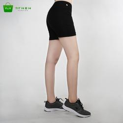 Quần short kaki nữ co giản cao cấp hàn quốc -màu đen
