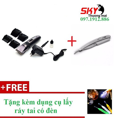 [ CÓ VIDEO THẬT + FREE SHIP ] Tông đơ cắt tóc Codol 531 tặng dao cạo râu + lấy ráy tai có đèn an toàn cho bé - 4154600 , 10296694 , 15_10296694 , 400000 , -CO-VIDEO-THAT-FREE-SHIP-Tong-do-cat-toc-Codol-531-tang-dao-cao-rau-lay-ray-tai-co-den-an-toan-cho-be-15_10296694 , sendo.vn , [ CÓ VIDEO THẬT + FREE SHIP ] Tông đơ cắt tóc Codol 531 tặng dao cạo râu + lấy