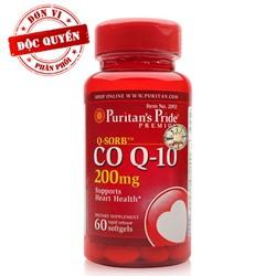 Hỗ trợ tim mạch QSorb Co Q10 200mg 60 viên