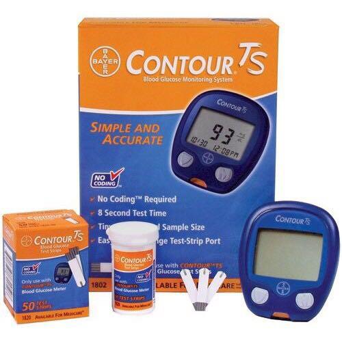 Máy đo đường huyết Bayer Contour TS- CHÍNH HÃNG NHẬT BÀN