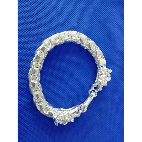Lắc tay bạc nam 3 cây vảy rồng - 4154838 , 10297052 , 15_10297052 , 2350000 , Lac-tay-bac-nam-3-cay-vay-rong-15_10297052 , sendo.vn , Lắc tay bạc nam 3 cây vảy rồng