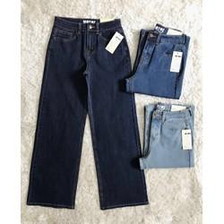 quần jeans ống suông lở