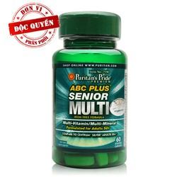 Thực phẩm chức năng cao cấp cho người cao tuổi Senior Vitamin 60 viên