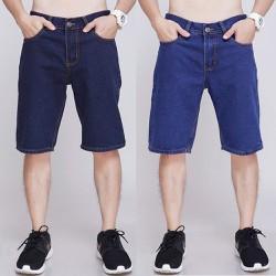 Quần shorts jeans nam ống suôn trung niên size 28 đến 36