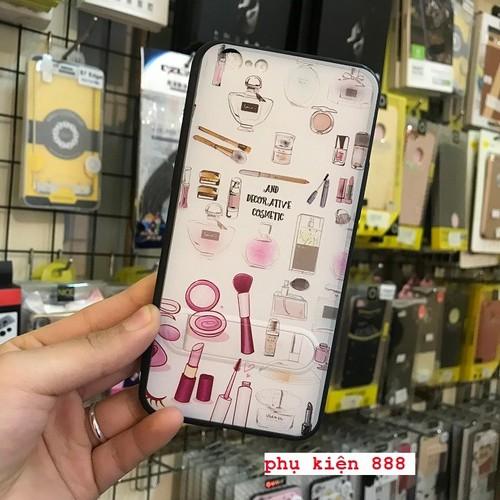 Ốp lưng cứng Oppo A39 hình mĩ phẩm có chống lưng hiệu Fashion Case