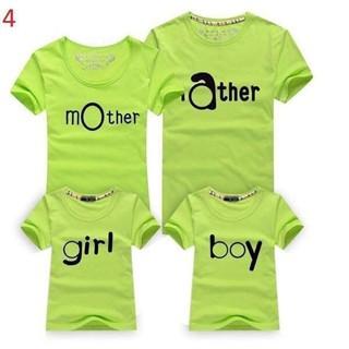 áo gia đình - 4 cái [ĐƯỢC KIỂM HÀNG] 7048489 - 7048489 thumbnail