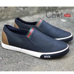 Giày Mọi Nam Gót Màu Phong Cách