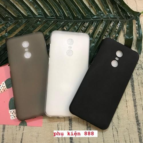 Ốp lưng silicon dẻo trơn Xiaomi Redmi 5 Plus