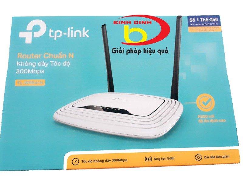 Bộ ĐTKD TP Link TL WR841N 4