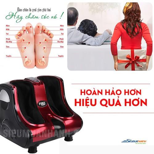 Máy massage chân hồng ngoại 3D Fuki FK-6890 - 4163445 , 10310040 , 15_10310040 , 5990000 , May-massage-chan-hong-ngoai-3D-Fuki-FK-6890-15_10310040 , sendo.vn , Máy massage chân hồng ngoại 3D Fuki FK-6890