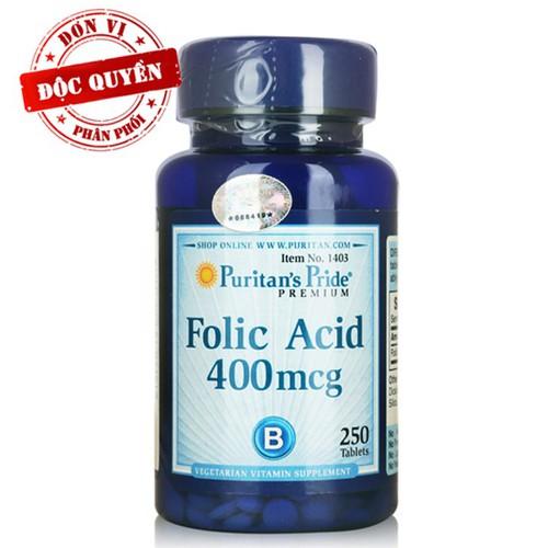 Folic Acid - ngăn ngừa thiếu máu cho bà bầu Folic Axit