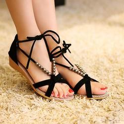 Giày Sandal cột dây xinh xắn