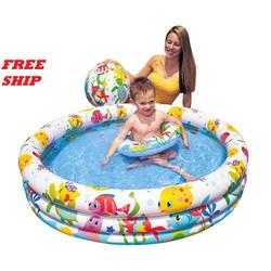 bể phao bơi - hồ bơi kém bóng và phao cho bé - bể bơi 3 chi tiết - hồ bơi - phao bơi - bể bơi