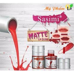 Son kem thùng sơn Sasimi Matte Lip Gloss