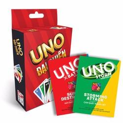Combo 3 bộ Bài - UNO Đại Chiến + Bài Uno Storm #2 + Bài Uno Battle #1