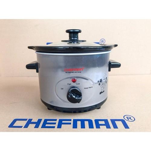 Nồi kho cá nấu cháo chefman 1 5l cm 511 chính hãng