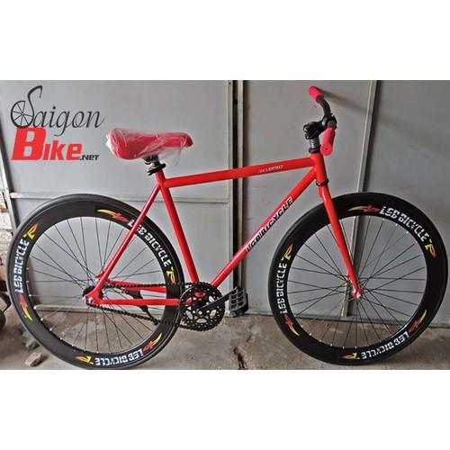 Xe đạp Fixed Gear Single Speed LGB vành 6cm đen đỏ - 4170817 , 10322099 , 15_10322099 , 1760000 , Xe-dap-Fixed-Gear-Single-Speed-LGB-vanh-6cm-den-do-15_10322099 , sendo.vn , Xe đạp Fixed Gear Single Speed LGB vành 6cm đen đỏ