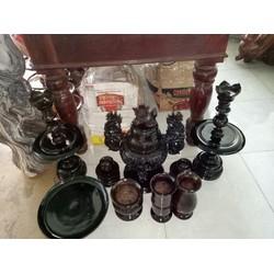Bộ đồ thờ gỗ chiu liu tuyệt đẹp rẻ nhất việt nam