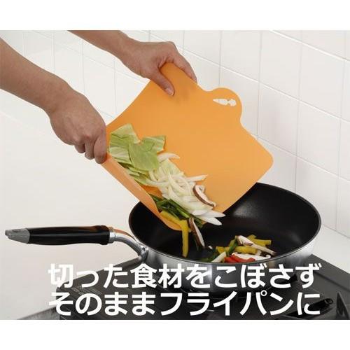 Thớt nhựa dẻo màu cam Hàng Nhật