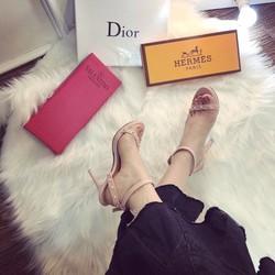 giày cao gót nữ phối đinh tán cực xinh