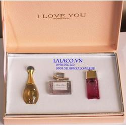 Bộ nước hoa Gift set Mini Dior 3pc