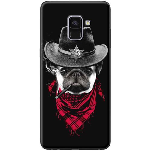 Ốp lưng nhựa dẻo Samsung A8 2018 Chó đen - 4176368 , 10328763 , 15_10328763 , 120000 , Op-lung-nhua-deo-Samsung-A8-2018-Cho-den-15_10328763 , sendo.vn , Ốp lưng nhựa dẻo Samsung A8 2018 Chó đen