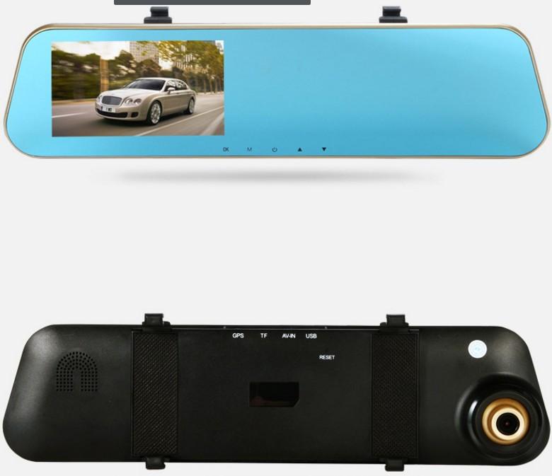 GIẢM GIÁ - Camera hành trình tích hợp kính chiếu hậu và camera lùi