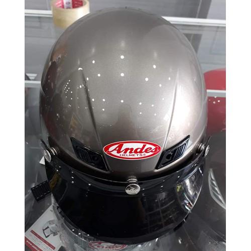 Nón bảo hiểm Andes trơn bóng xám - 4182711 , 10337743 , 15_10337743 , 400000 , Non-bao-hiem-Andes-tron-bong-xam-15_10337743 , sendo.vn , Nón bảo hiểm Andes trơn bóng xám