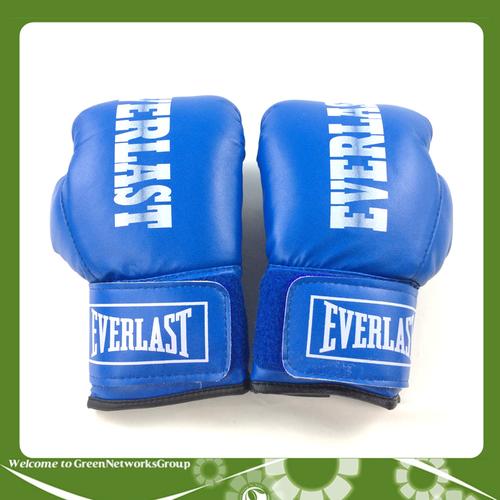 Găng tay boxing everlast size 10.oz greennetworks xanh dương