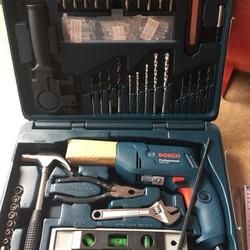 Hộp máy khoan và phụ kiện chính hãng GSB550 set