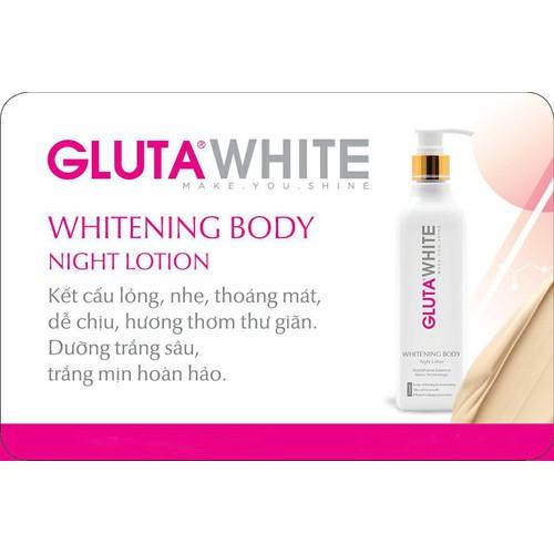 Kem Trắng Da Toàn Thân Gluta White - Ban Đêm - Whitening Body