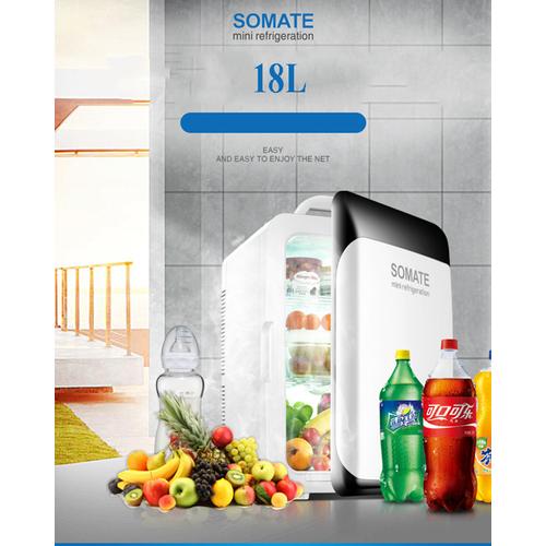 Tủ lạnh mini 18L SOMATE nguồn 12V và 220V - 4180768 , 10334679 , 15_10334679 , 1590000 , Tu-lanh-mini-18L-SOMATE-nguon-12V-va-220V-15_10334679 , sendo.vn , Tủ lạnh mini 18L SOMATE nguồn 12V và 220V