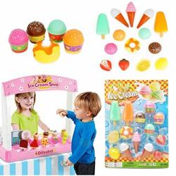 Bộ đồ chơi bán kem và trái cây vui nhộn cho bé