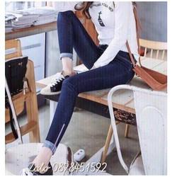 quần jean nữ form ôm cực đẹp