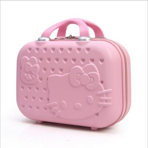 Cốp vali hình Kitty đựng đồ đa năng
