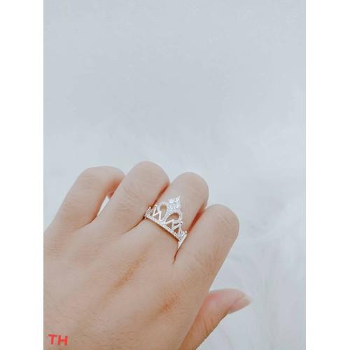 Nhẫn bạc nữ hình vương miện - 4183218 , 10338022 , 15_10338022 , 190000 , Nhan-bac-nu-hinh-vuong-mien-15_10338022 , sendo.vn , Nhẫn bạc nữ hình vương miện