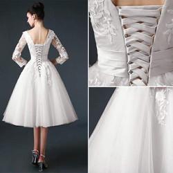 Đầm xoè công chúa tay lửng