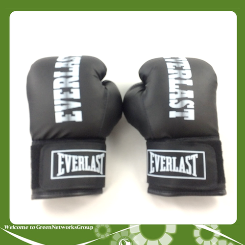 Găng tay boxing everlast size 10.oz greennetworks màu đen