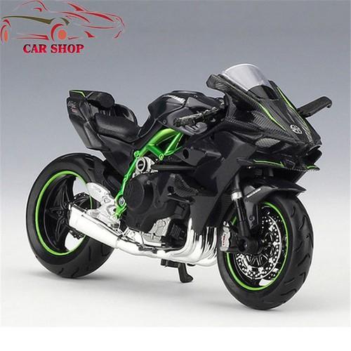 Xe mô hình moto Kawasaki H2R tỉ lệ 1:18