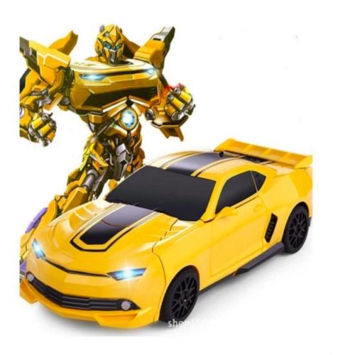 Xe  - Xe ô tô biến hình thành Robot cho bé