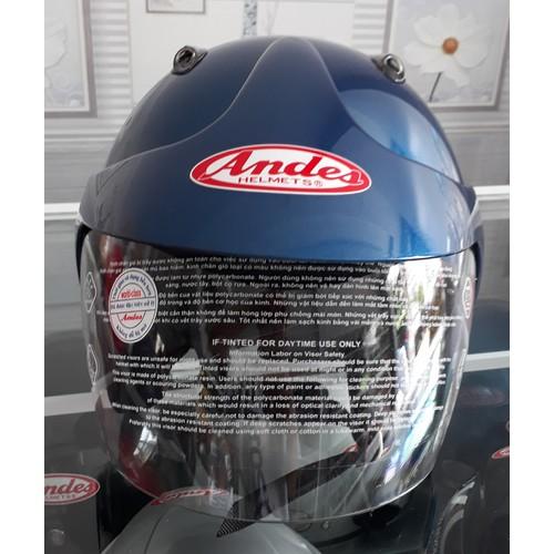 Nón bảo hiểm Andes motor trơn bóng xanh - 4181190 , 10335311 , 15_10335311 , 670000 , Non-bao-hiem-Andes-motor-tron-bong-xanh-15_10335311 , sendo.vn , Nón bảo hiểm Andes motor trơn bóng xanh