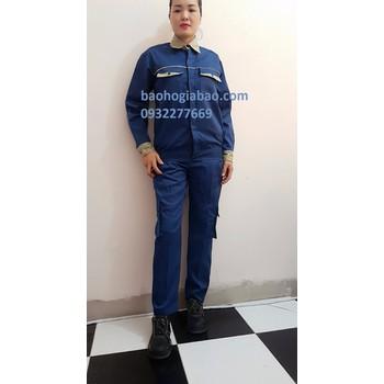 Bảo hộ lao động trung hiếu  Quần áo bảo hộ lao động túi hộp - TH701 ... 5d1482a934b81